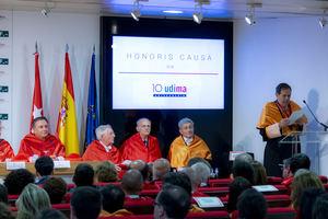 De izqda a dcha: Eugenio Lanzadera Arencibia, Carlos Palao Taboada, Eduardo Sanz Gadea, Valentín Pich Rosell y Eduardo Bueno Campos.
