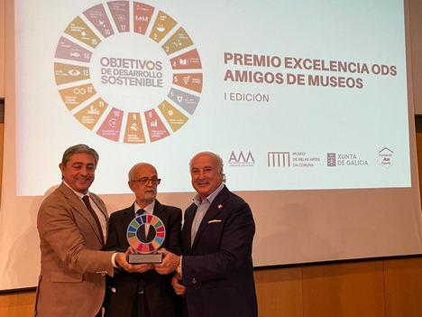 La Asociación de Amigos do Museo de Belas Artes da Coruña recibe el Premio Excelencia ODS que otorgan Fundación Aon España y FEAM