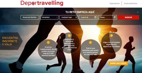 Llega Deportravelling, el primer metabuscador que engloba competiciones, eventos y viajes deportivos en un solo portal