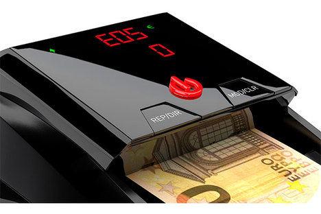 ¿Cobra en efectivo? Descubra las máquinas detectoras de billetes de Detectalia