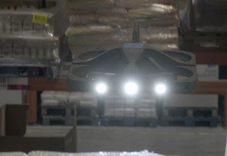 DHL incorpora los primeros drones autónomos en sus centros logísticos en España