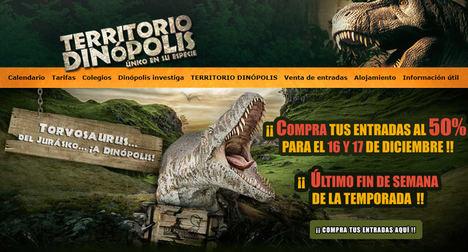 El museo de Dinópolis exhibirá la mayor cantidad de fósiles originales de dinosaurios gigantes de Europa