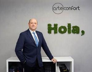 Javier Zorrilla, director general de Arteconfort.