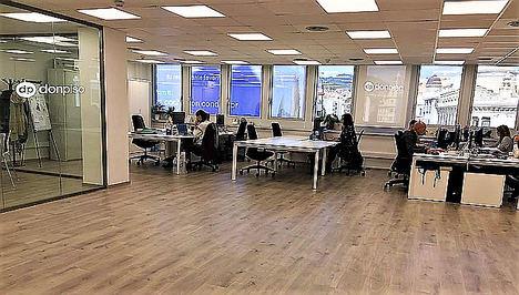 donpiso amplía en 200m2 sus oficinas centrales de la Avenida Diagonal de Barcelona