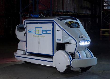 eDelivery 2018 acoge el lanzamiento de Scoobic, vehículo eléctrico que solucionará los problemas de reparto