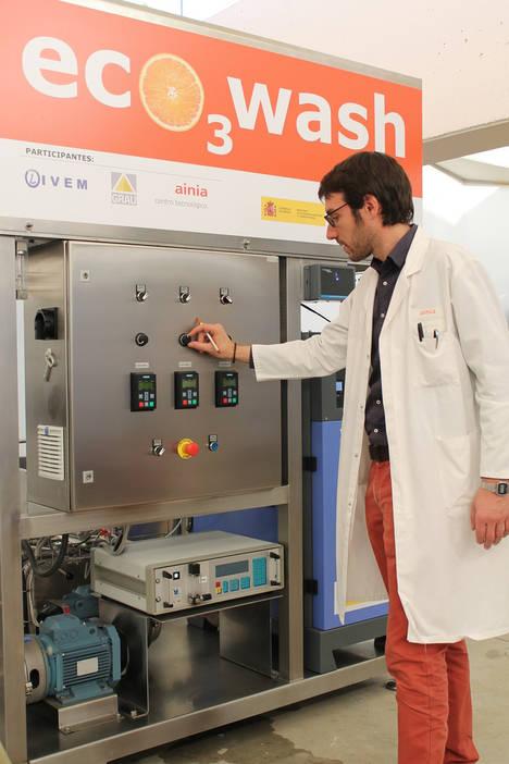 Ponen en marcha la primera planta piloto para reutilizar el agua empleada en el lavado de cítricos