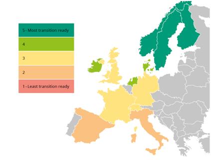 Las principales economías europeas en riesgo de no cumplir los objetivos de descarbonización
