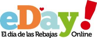 eDay!, el día de las rebajas online, calienta motores para el lunes 13 de junio