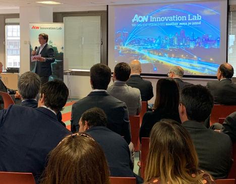 La primera edición de Aon InnovationLab llega a su fase final con la celebración del Demo Day