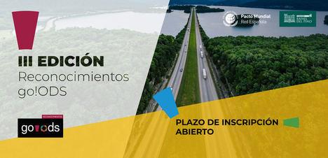 Abierta la convocatoria para la III edición de los Reconocimientos go!ODS del Pacto Mundial de Naciones Unidas España y la Fundación Rafael del Pino