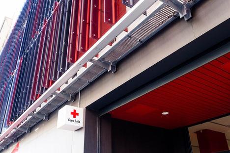 Edificio de la Cruz Roja en Barcelona