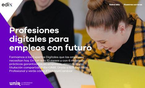 Edix, finalista a los premios Digital Talent en la categoría de Pure Digital para startups y organizaciones nativas digitales