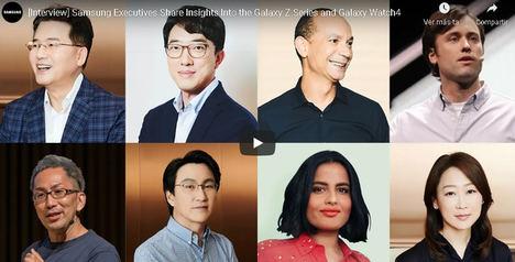Los ejecutivos de Samsung comparten sus ideas sobre la innovadora serie Galaxy Z y el Galaxy Watch4