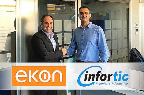 El nuevo partner, INFORTIC SL, apuesta por ekon ERP para crecer entre las pymes