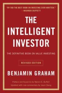 Cubierta de la edición en inglés de El Inversor Inteligente por Benjamin Graham.
