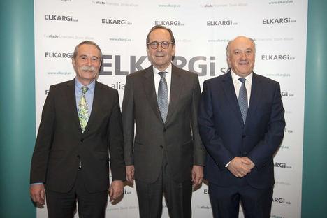 Gregorio Villalabeitia, Presidente de Kutxabank, analiza ante empresarios vascos la financiación empresarial en Euskadi