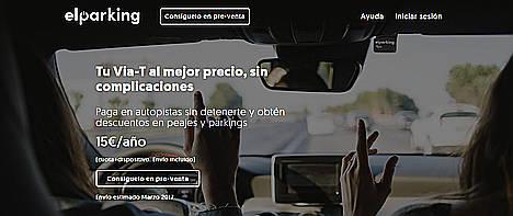 ElParking, con su Via-T, facilita el recorrido a más de medio millón de españoles