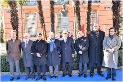 La Embajada de Nicaragua conmemora a Rubén Darío en el 102 aniversario de su fallecimiento