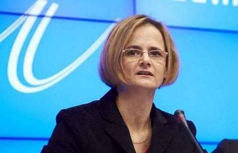Excma. Sra. Enikő Győri, embajadora de Hungría en España