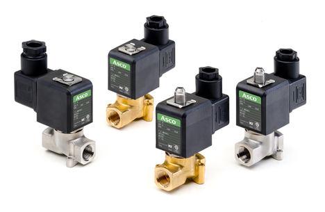 Las electroválvulas de Emerson permiten diseñar máquinas más compactas