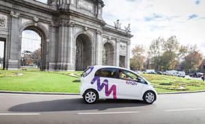 Llega emov, un nuevo servicio de car sharing que pondrá inicialmente a disposición de la ciudad de Madrid 500 vehículos eléctricos