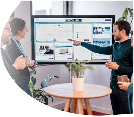 6 de cada 10 empleados usan herramientas de comunicación corporativa en sus móviles personales