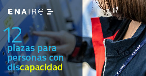 ENAIRE convoca 12 plazas para titulados universitarios con discapacidad