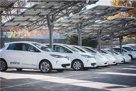 El 40% de los directivos de Endesa se desplazará en vehículo eléctrico en 2020