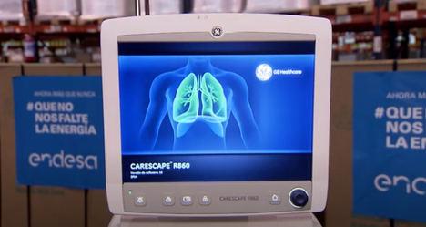 Endesa dona un centenar de respiradores de última generación y 300.000 mascarillas a Sanidad y a las CCAA