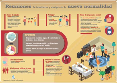 La Organización Colegial de Enfermería da las pautas a la población para poder reunirse con seguridad con familiares y amigos y evitar nuevos rebrotes de COVID-19