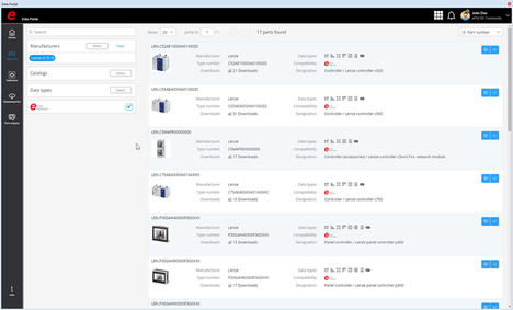 Por ejemplo, Lenze ha integrado datos de los componentes en el EPLAN Data Portal; algunos de ellos ya cumplen el nuevo EPLAN Data Standard.