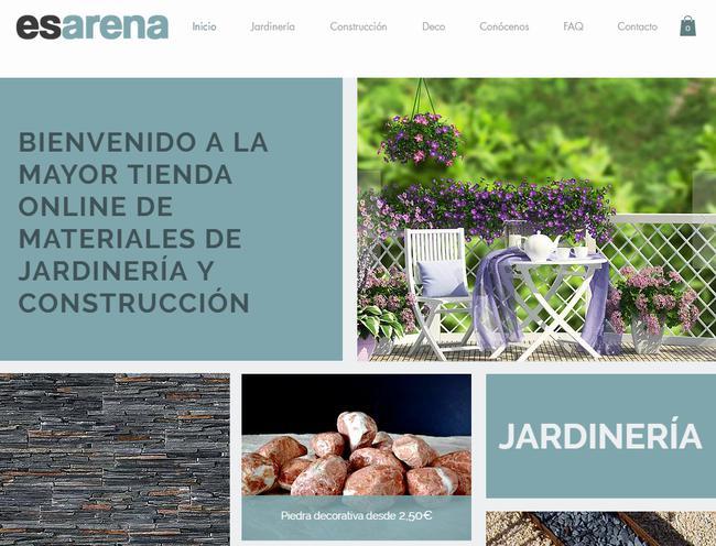 Nace la mayor tienda online de materiales de jardiner a y Materiales para jardineria