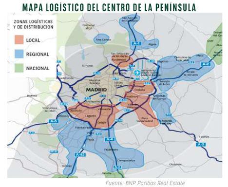 Ritmo imparable en la demanda de espacios logísticos de Madrid y Barcelona: incremento del 167% y 61% respectivamente solo en el primer trimestre