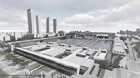 Adif AV amplía el plazo de la consulta pública sobre el nuevo complejo ferroviario de la estación de Madrid Chamartín