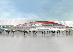 El Wanda Metropolitano tendrá banda ancha para todos los espectadores del estadio