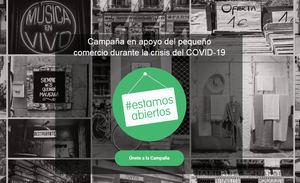 Nace la iniciativa #EstamosAbiertos para apoyar al pequeño comercio durante la crisis del COVID-19