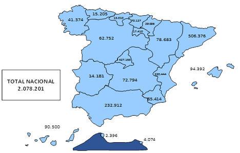 La Seguridad Social registró 2.078.201 trabajadores extranjeros de media en septiembre