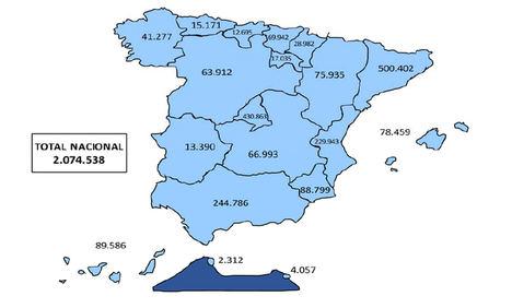 La Seguridad Social registró 2.074.538 trabajadores extranjeros de media en octubre