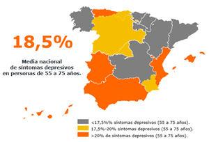 Un 20% de los extremeños de entre 55 y 75 años tienen síntomas depresivos