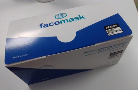 Face Mask, primera empresa española en certificar sus mascarillas higiénicas con AENOR