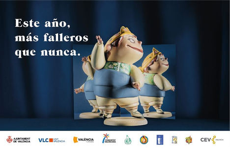 València lanza una campaña para dar visibilidad a las Fallas