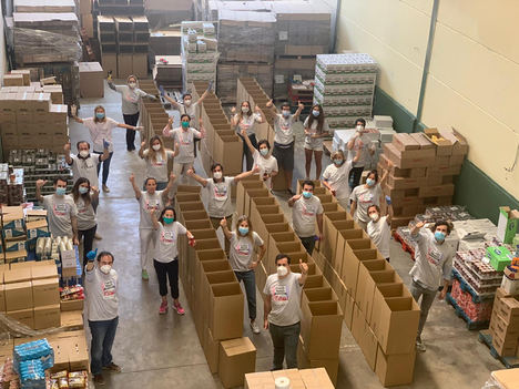 La iniciativa Family Meals logra alimentar a 600 familias madrileñas