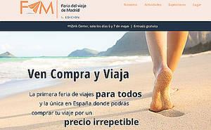 Globalia lanza la web de la Feria del viaje de Madrid