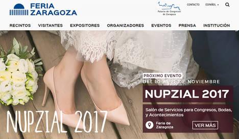 Feria de Zaragoza se viste de largo con NUPZIAL 2017, el mayor escenario para la celebración de un evento y un día especial