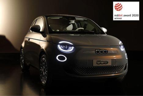 El Nuevo Fiat 500 gana el premio «Red Dot Award 2020»
