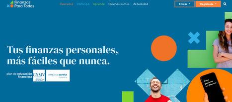 El Plan de Educación Financiera renueva su web finanzasparatodos.es