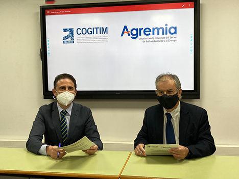 Agremia y COGITIM se alían para fortalecer el sector de las instalaciones y la energía