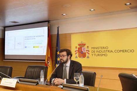 Javier Capapé, director de Sovereign Wealth Reseach en el Centro para la Gobernanza del Cambio, IE University.