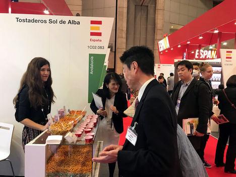 Un total de 17 empresas agroalimentarias andaluzas se adentran en el mercado japonés con su presencia en Foodex