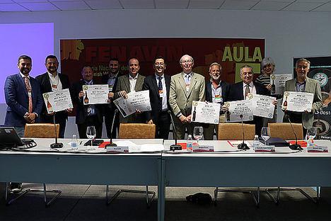 """Custodio López Zamarra y Fenavin, premiados junto a los """"Best in Class"""" mejores vinos y destilados 2019"""